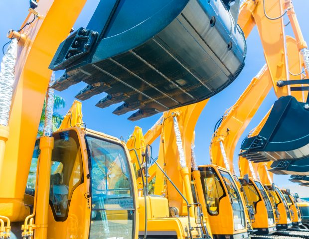 Asian,Vehicle,Fleet,With,Construction,Machinery,Of,Building,Or,Mining